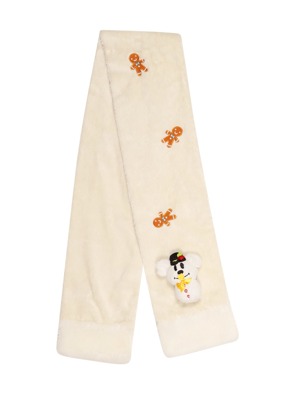 Front photo of Preloved Disney White Girl's scarf - size 5-6 yrs