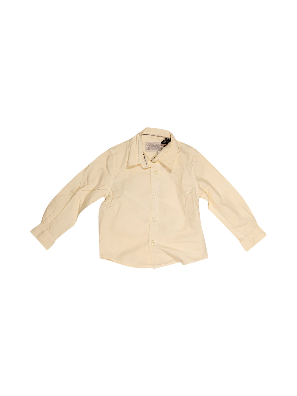 Front photo of Preloved Zara Beige Boy's shirt - size 2-3 yrs