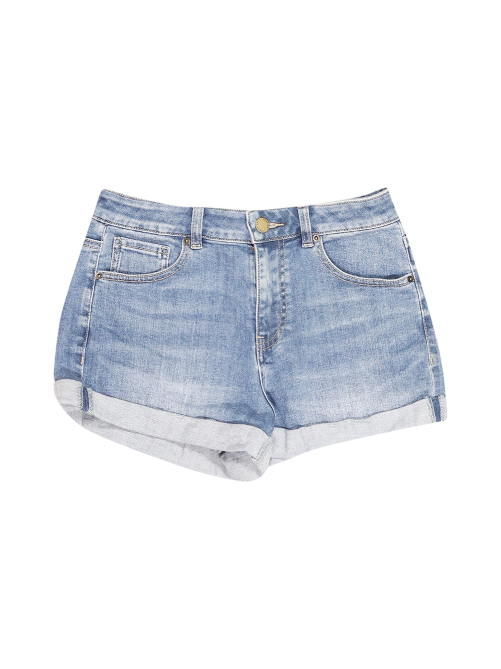 Front photo of Preloved yeation Blue Woman's shorts - size 8/S