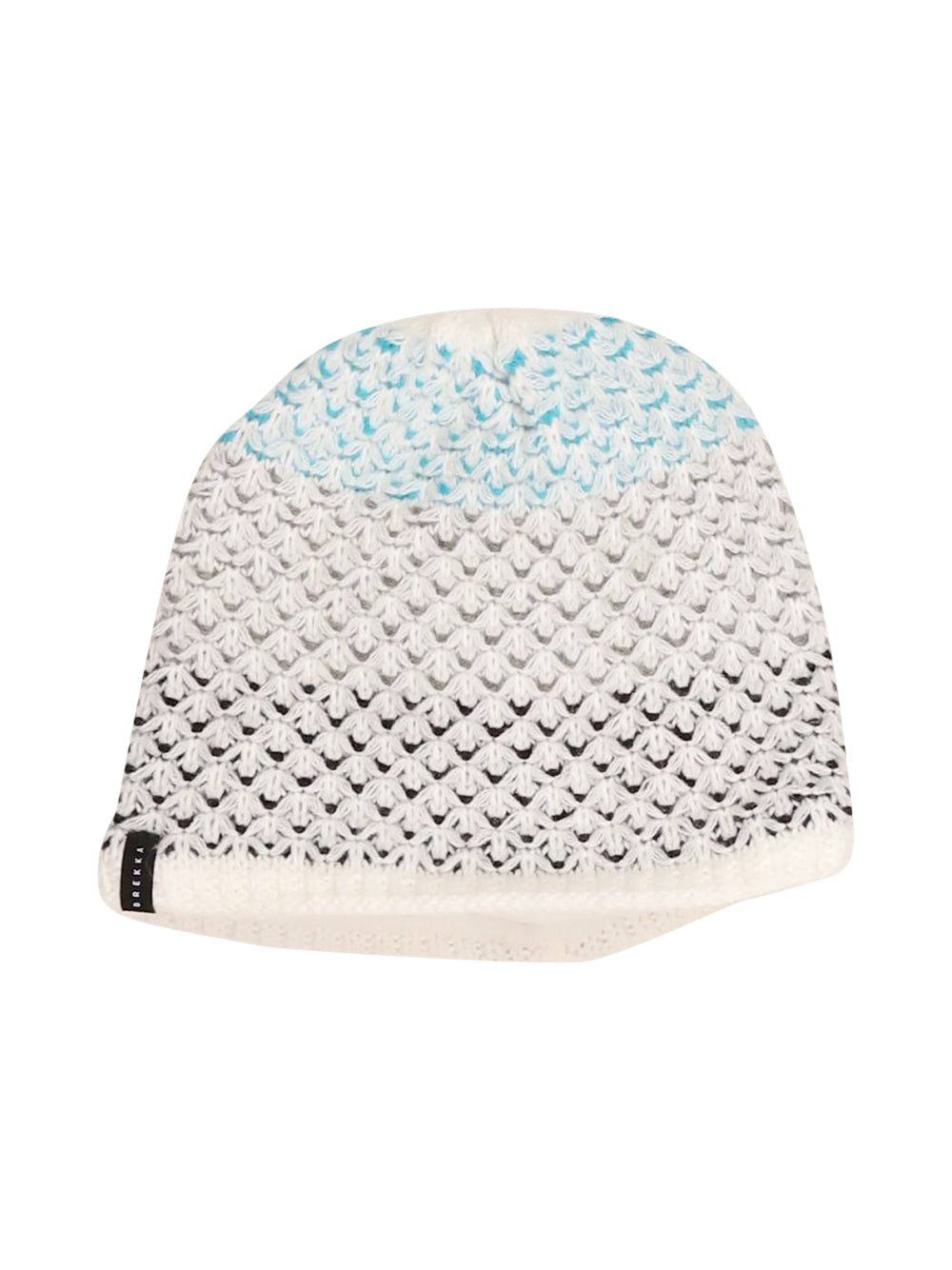 Front photo of Preloved Brekka White Girl's hat - size 4-5 yrs