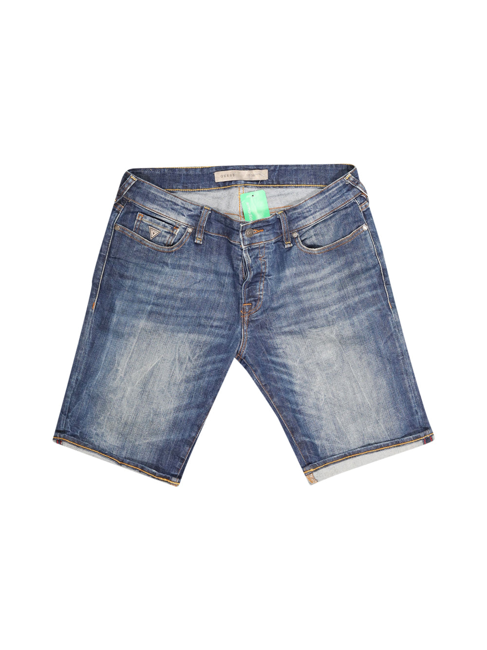 Front photo of Preloved Guess Blue Man's shorts - size 42/XL