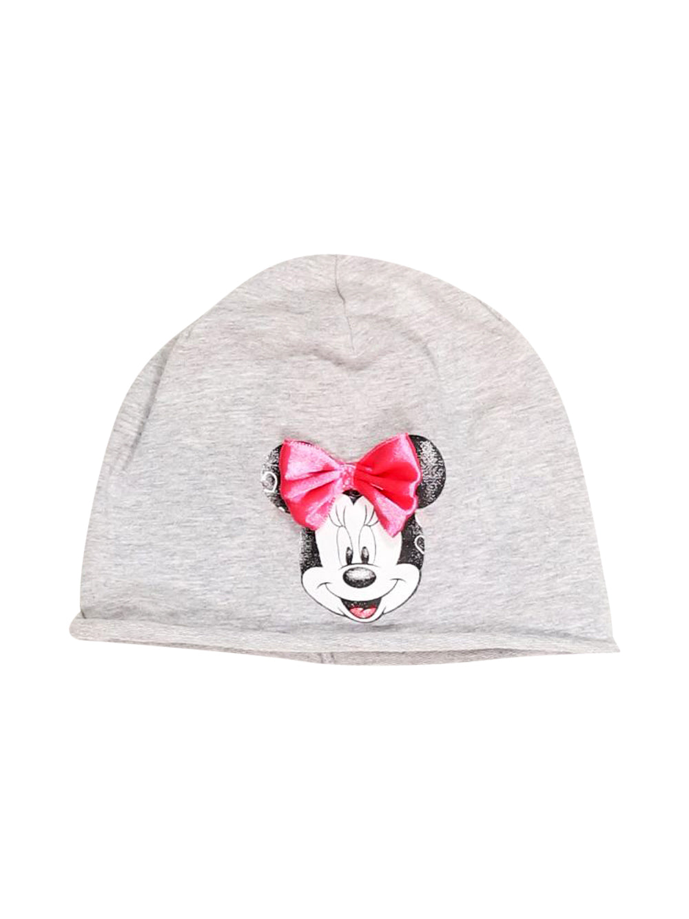 Front photo of Preloved Disney Grey Girl's hat - size 12-18 mths