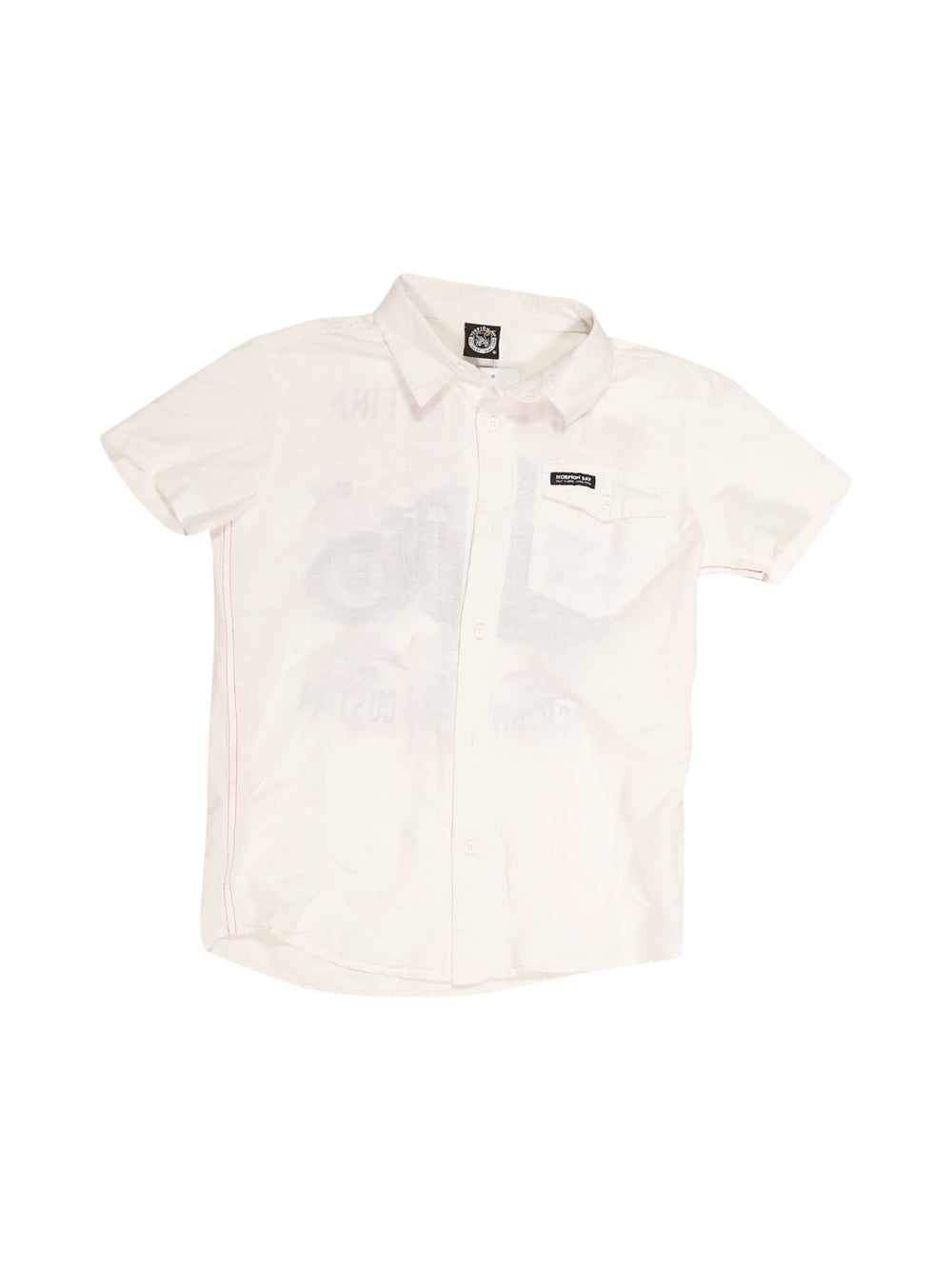Front photo of Preloved Scorpion Bay White Boy's shirt - size 10-12 yrs