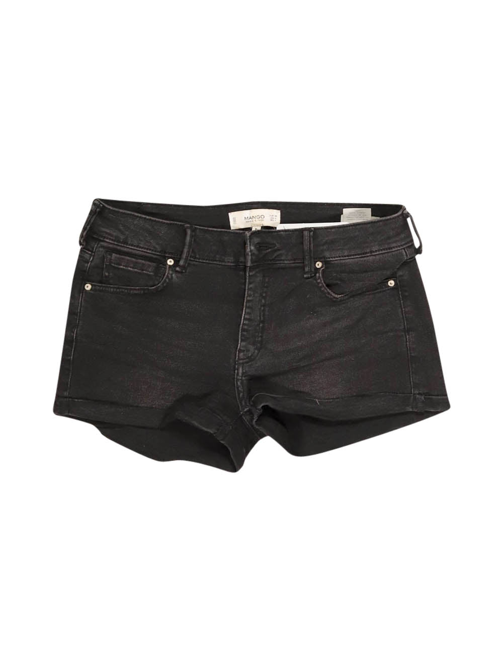 Front photo of Preloved Mango Black Woman's shorts - size 8/S