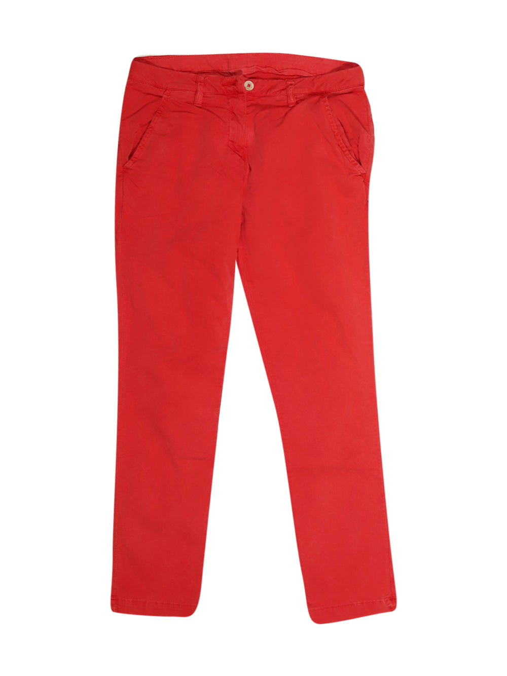 Front photo of Preloved Kappa Red Woman's trousers - size 6/XS