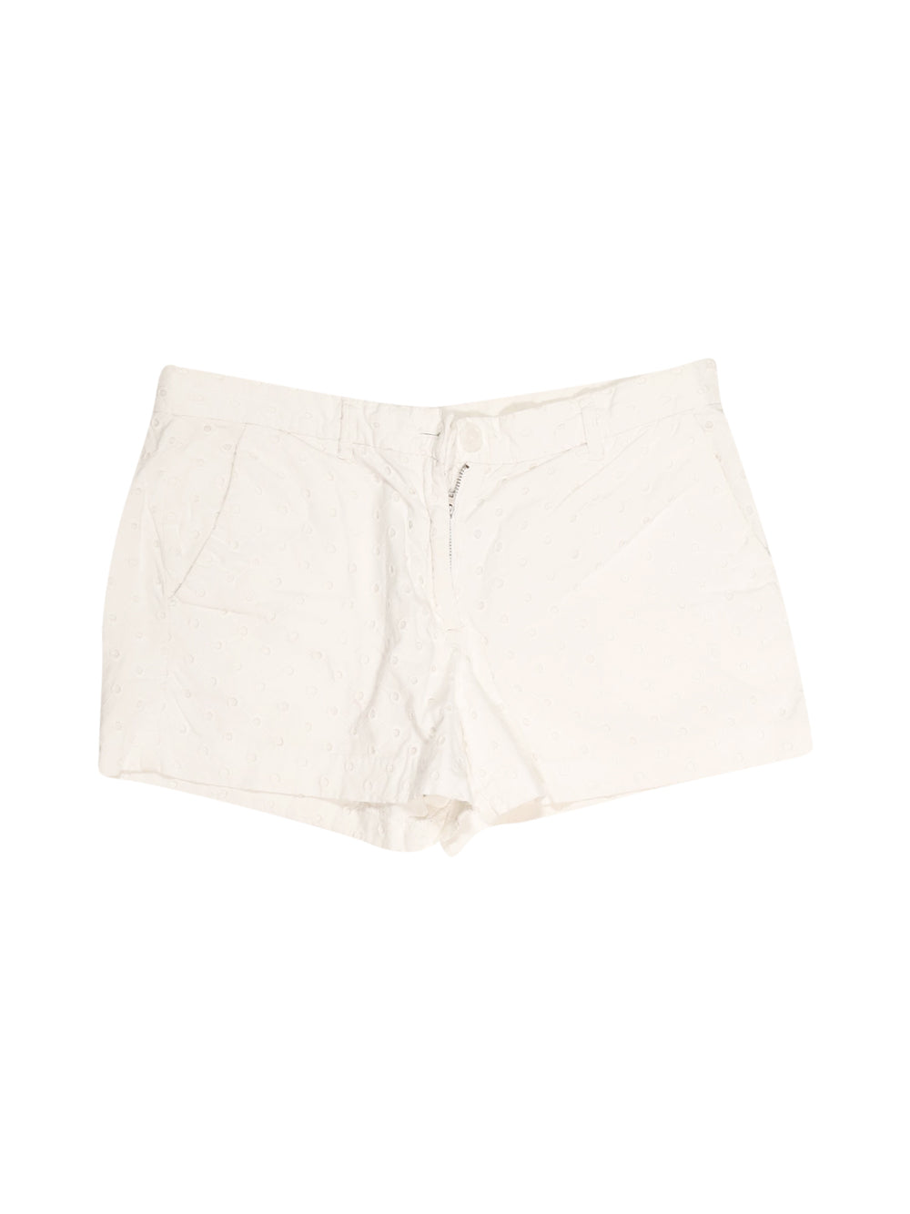 Front photo of Preloved Gap White Woman's shorts - size 6/XS