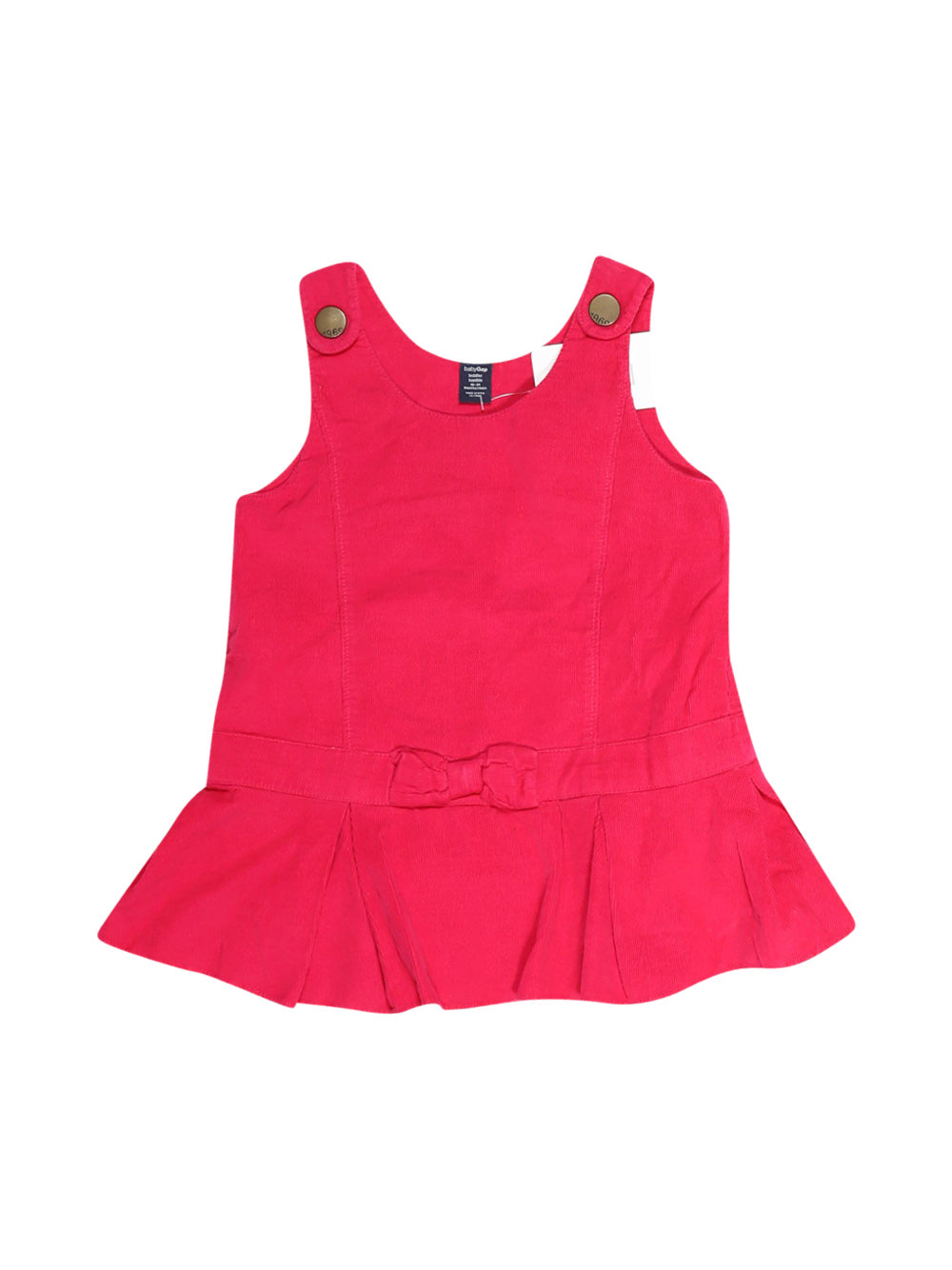 Front photo of Preloved Gap Pink Girl's dress - size 18-24 mths