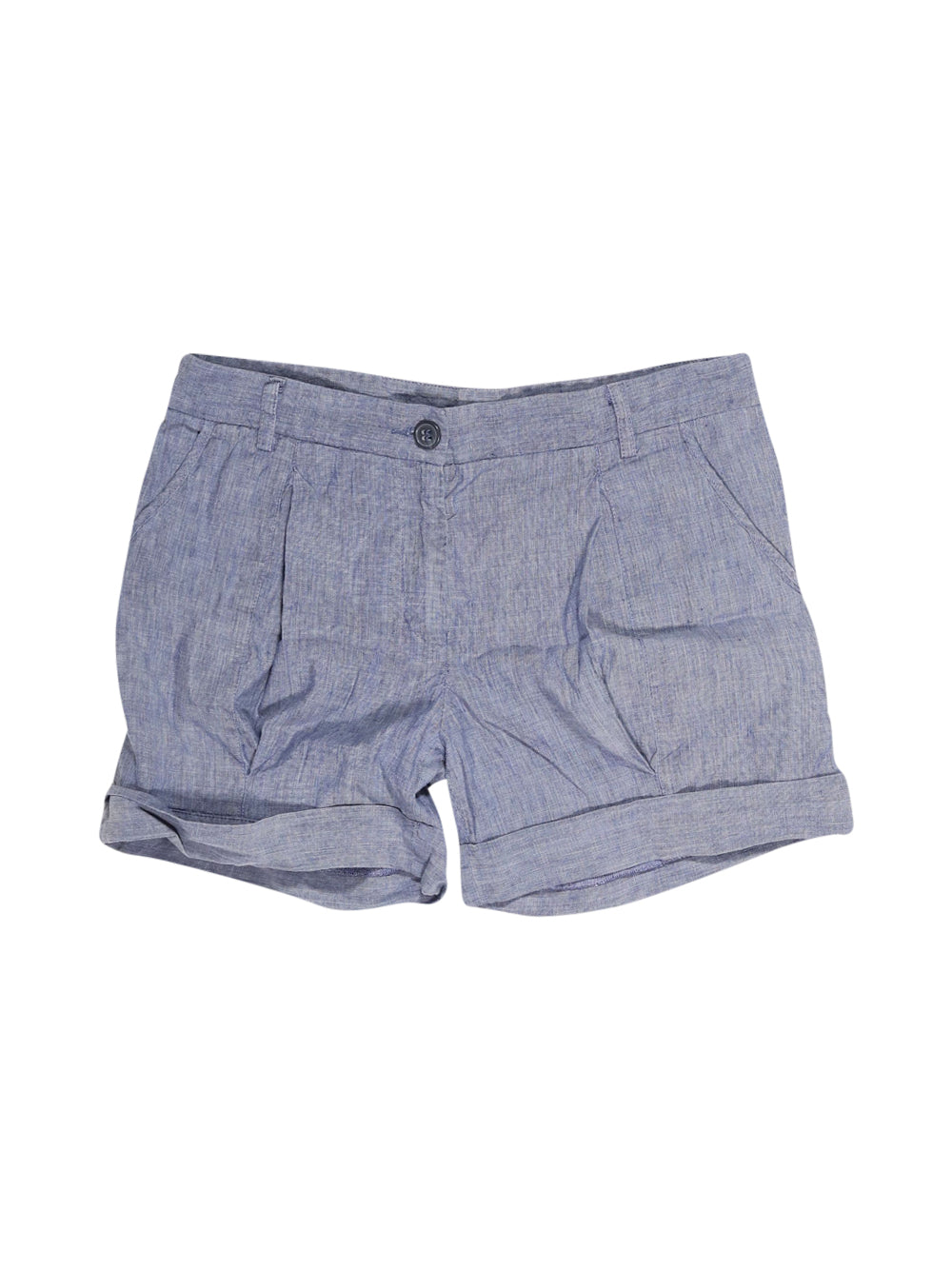 Front photo of Preloved Brian Dales Blue Woman's shorts - size 12/L