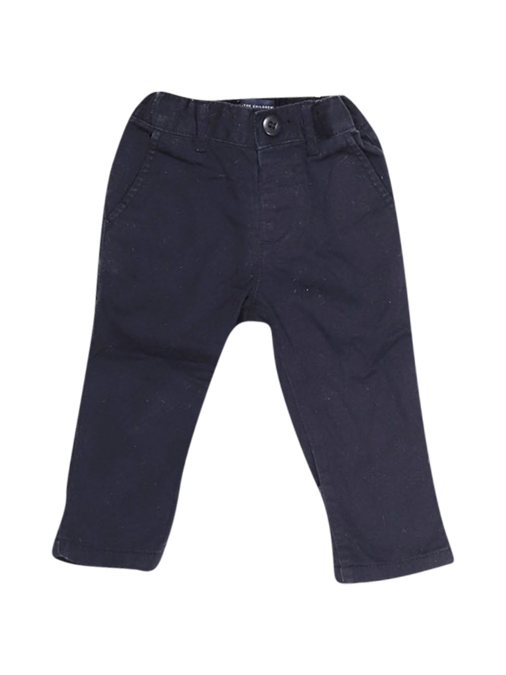 Front photo of Preloved The Children's Place Blue Boy's trousers - size 9-12 mths