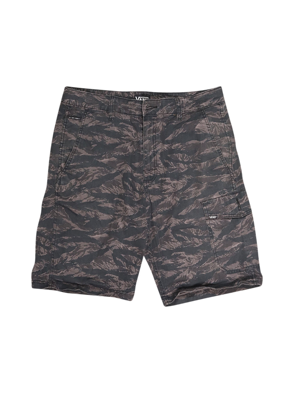 Front photo of Preloved Vans Black Man's shorts - size 32/XXS