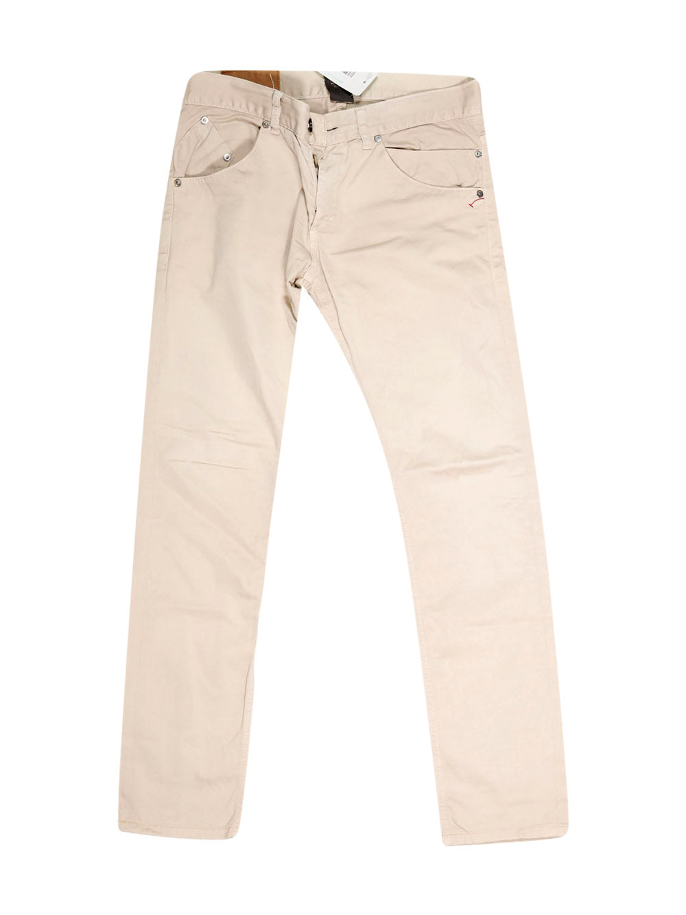 Front photo of Preloved Dondup Beige Man's trousers - size 34/XS