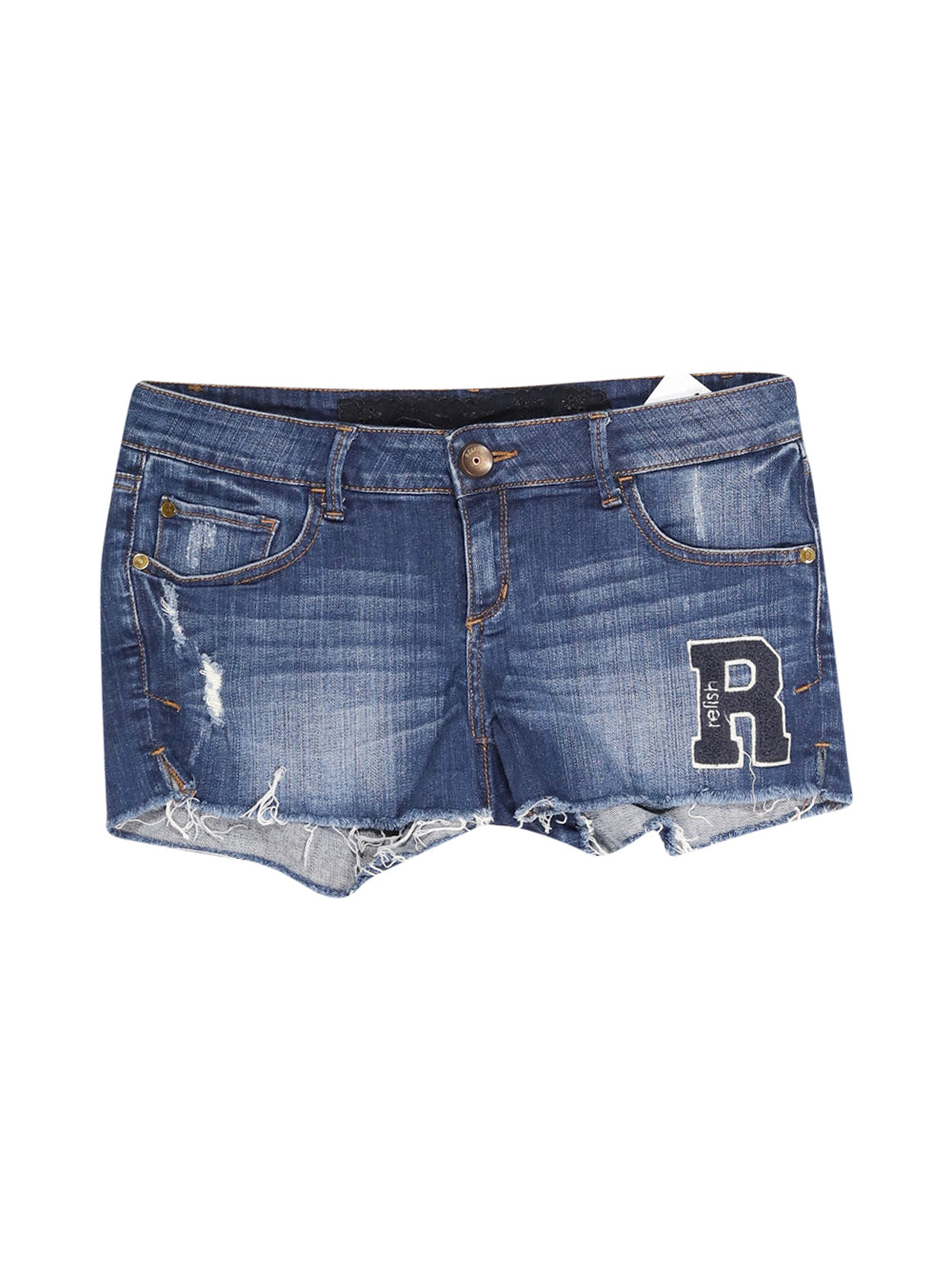 Front photo of Preloved Relish Blue Woman's shorts - size 12/L
