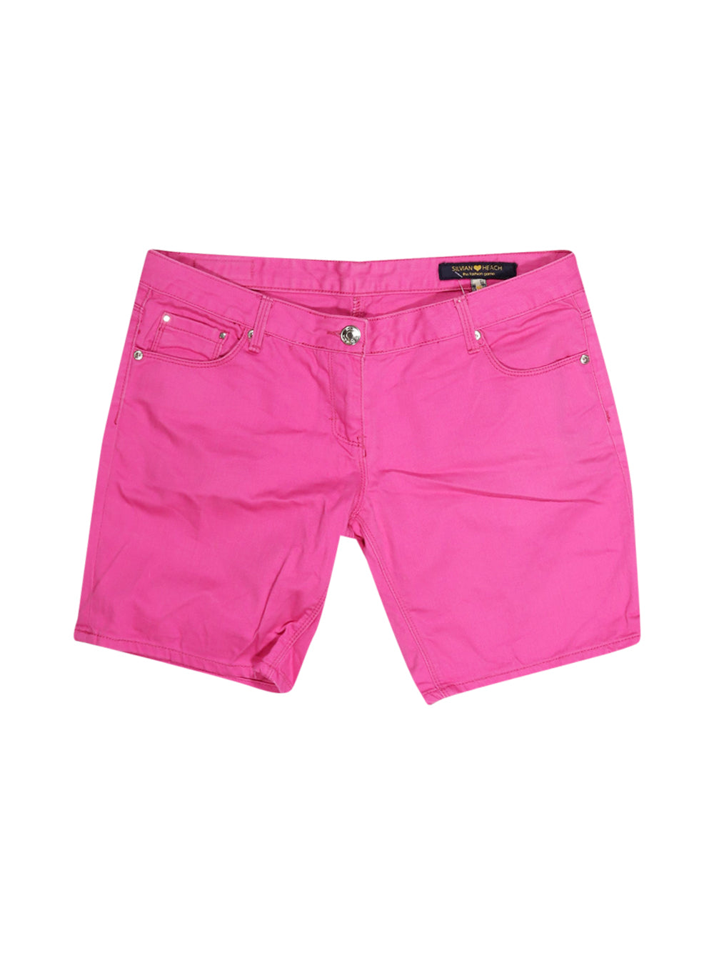 Front photo of Preloved Silvian Heach Pink Woman's shorts - size 12/L