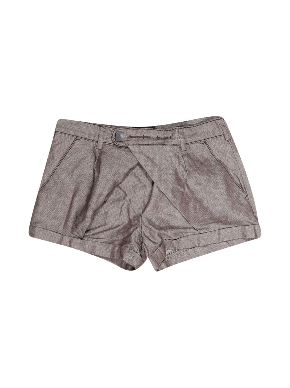 Front photo of Preloved Sisley Grey Woman's shorts - size 6/XS