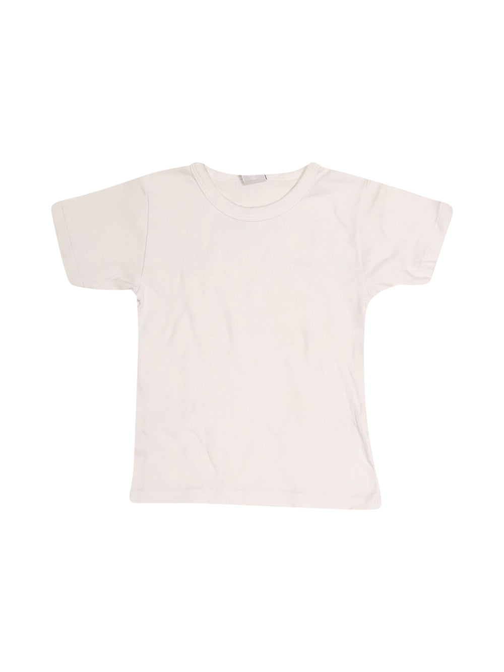 Front photo of Preloved Petit Bateau White Boy's t-shirt - size 3-4 yrs