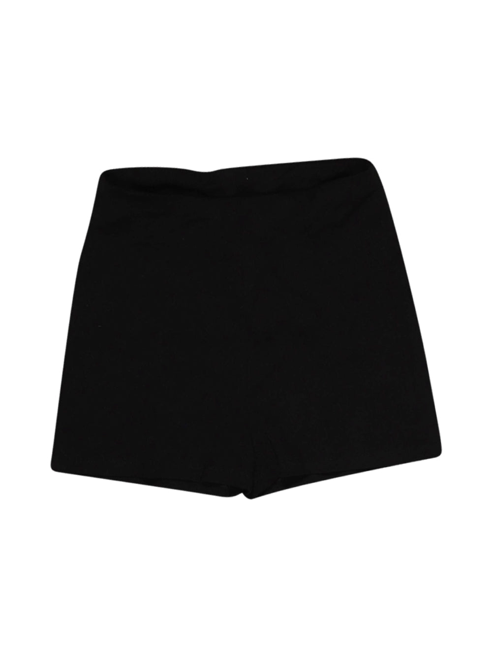 Front photo of Preloved Asos Black Woman's shorts - size 10/M