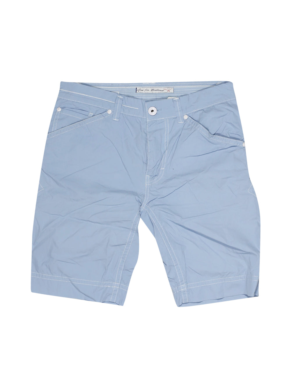 Front photo of Preloved Gas Light-blue Man's shorts - size 34/XS