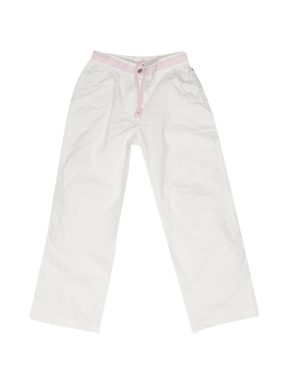 Front photo of Preloved Geox White Girl's trousers - size 5-6 yrs