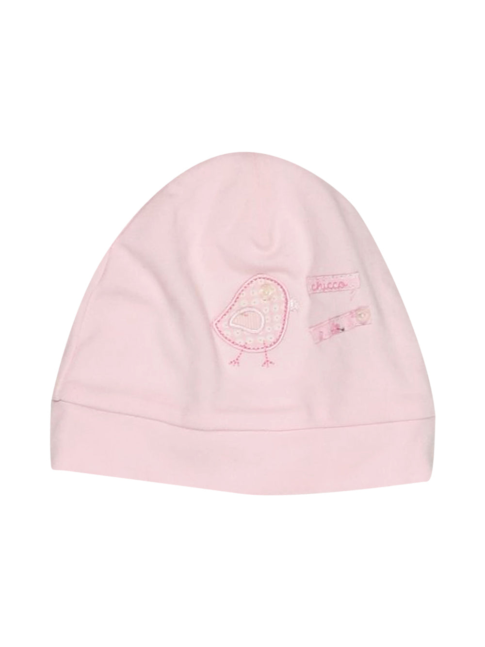 Front photo of Preloved Chicco Pink Girl's hat - size 18-24 mths