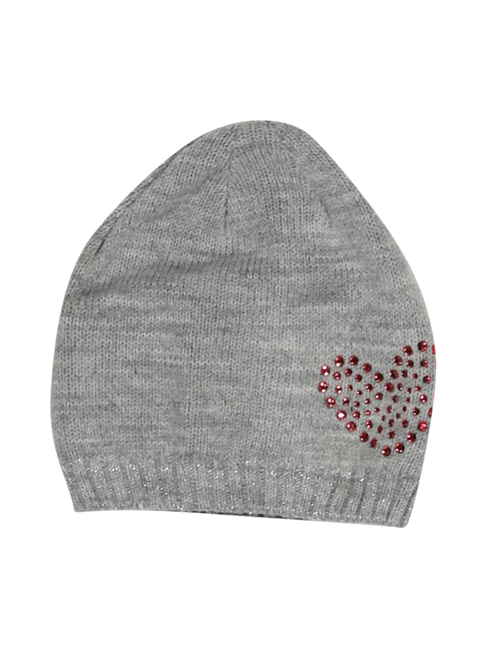 Front photo of Preloved A punto 64 Grey Girl's hat - size 3-4 yrs