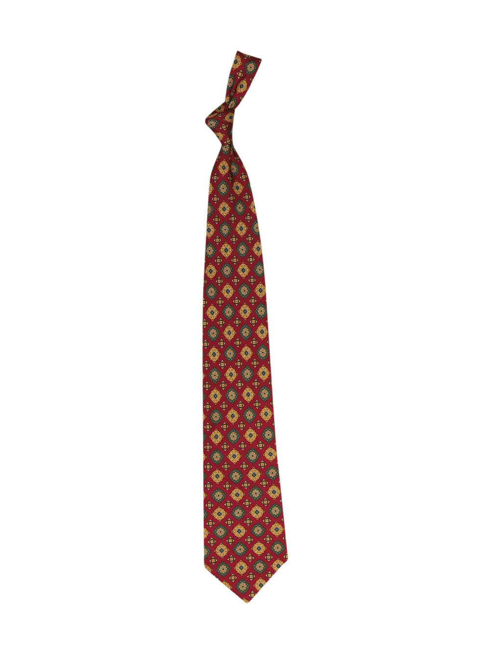 Front photo of Preloved andrew's ties Bordeaux Man's tie - size one-size