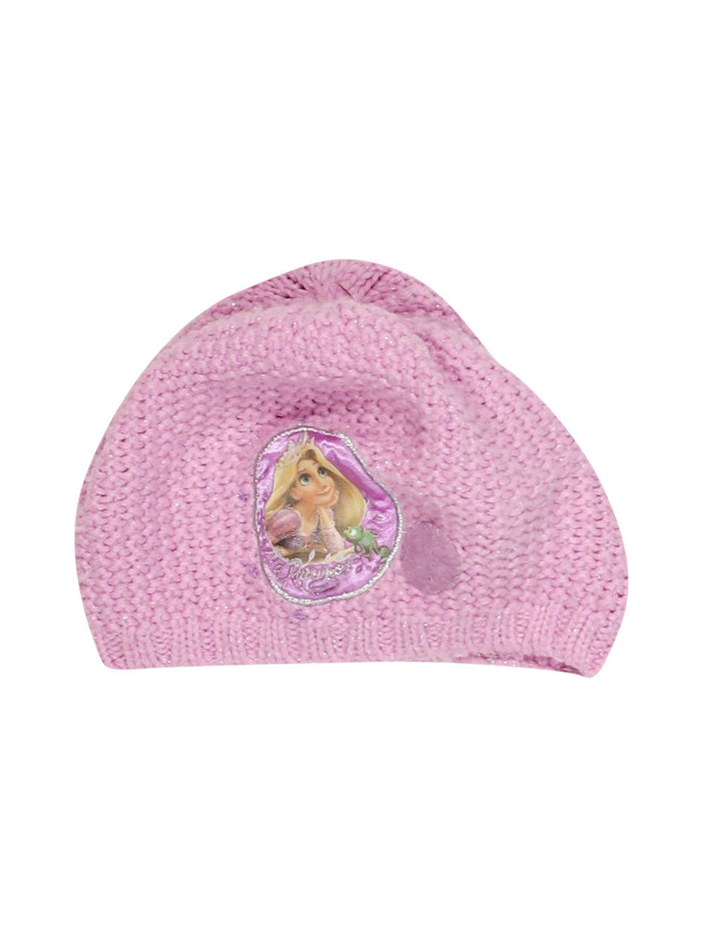 Front photo of Preloved Disney Pink Girl's hat - size 4-5 yrs