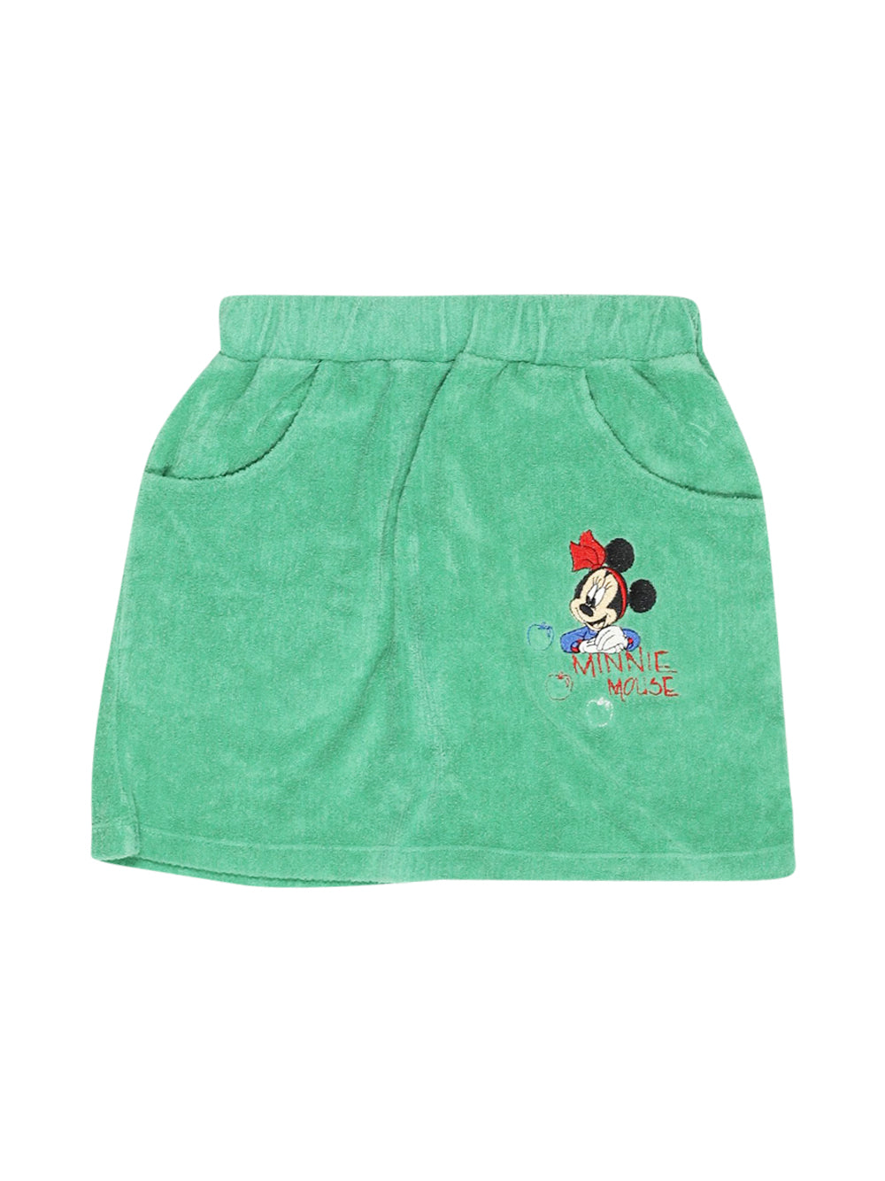 Front photo of Preloved Disney Green Girl's skirt - size 6-7 yrs