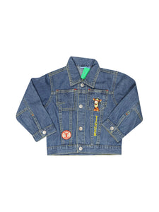 Front photo of Preloved Disney Blue Boy's jacket - size 18-24 mths
