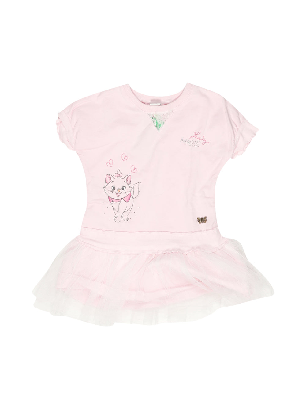Front photo of Preloved Disney Pink Girl's dress - size 18-24 mths