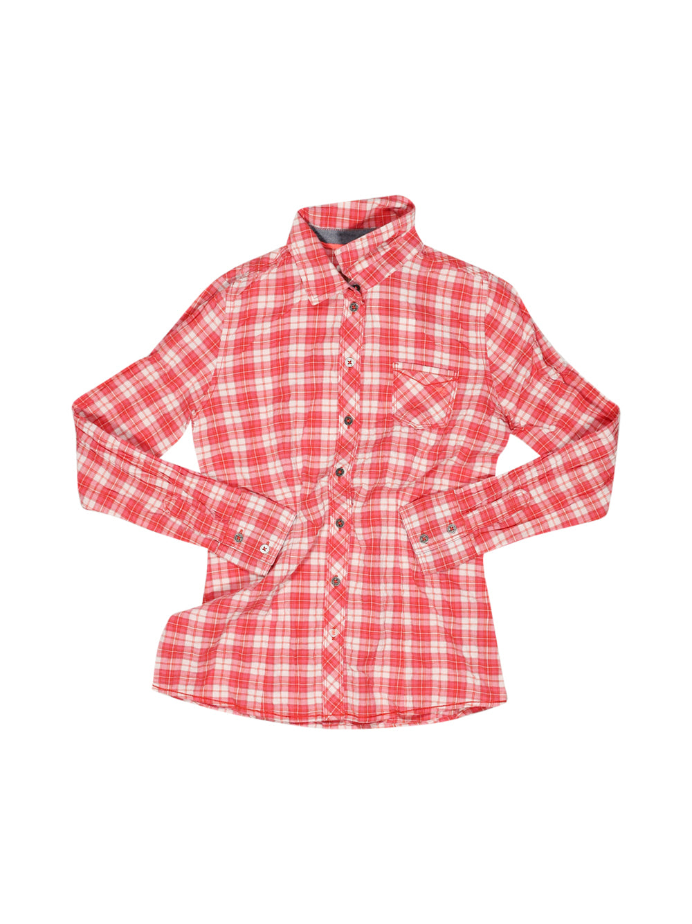 Front photo of Preloved Esprit Pink Girl's shirt - size 12-14 yrs