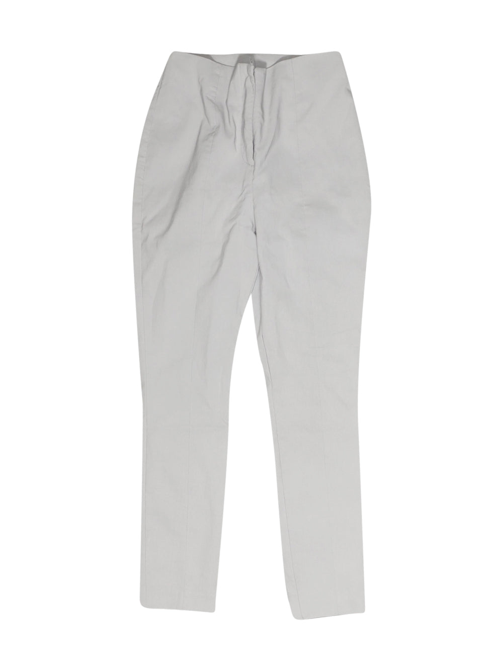 Front photo of Preloved Asos Grey Woman's trousers - size 6/XS