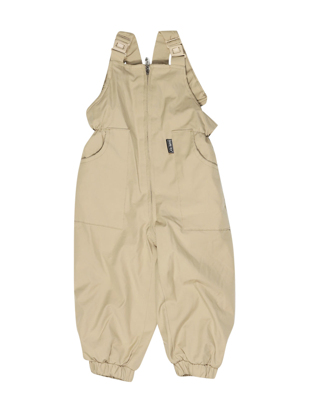 Front photo of Preloved Manudieci Beige Girl's ski trousers - size 12-18 mths