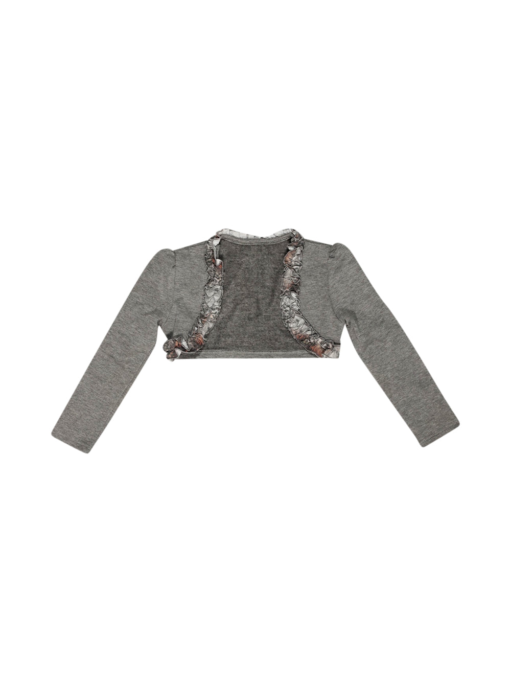 Front photo of Preloved Camilla Srl Grey Girl's bolero - size 18-24 mths