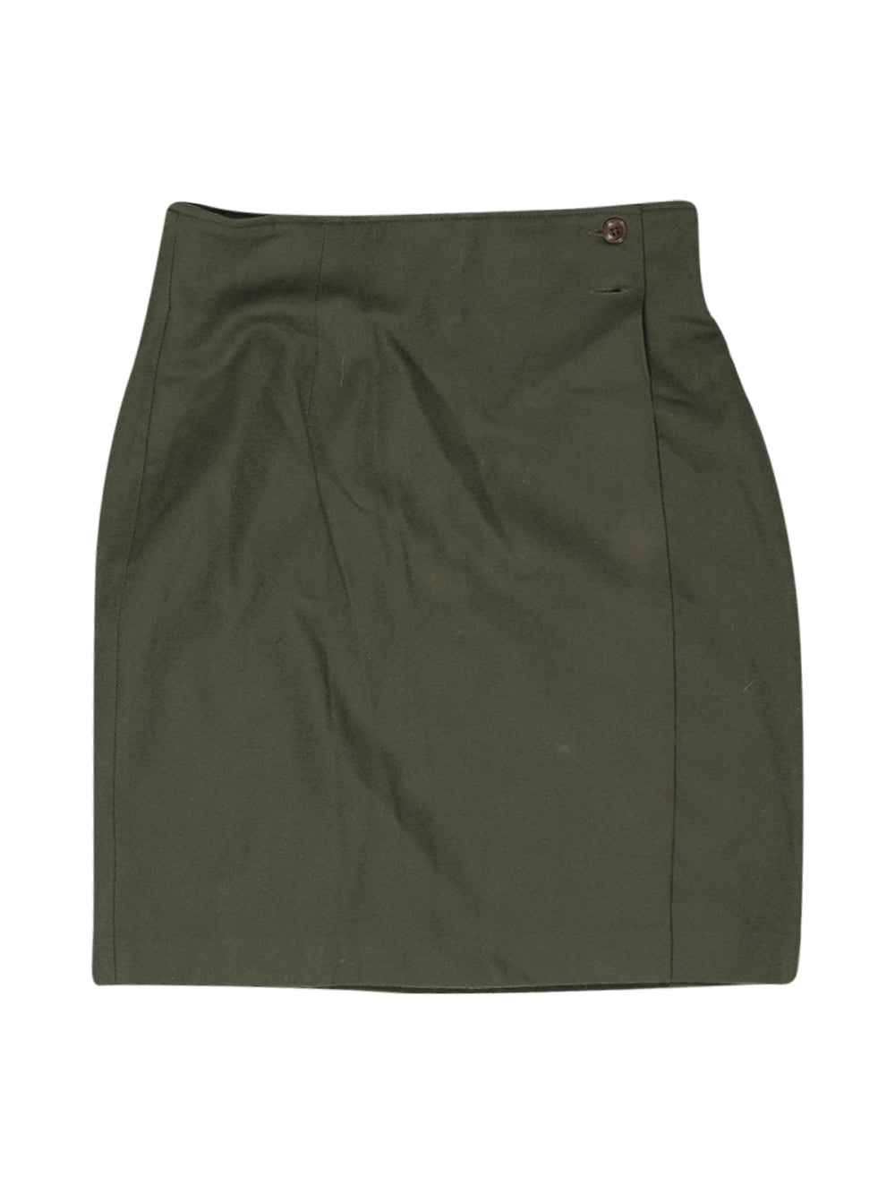 Front photo of Preloved Sisley Green Woman's skirt - size 10/M