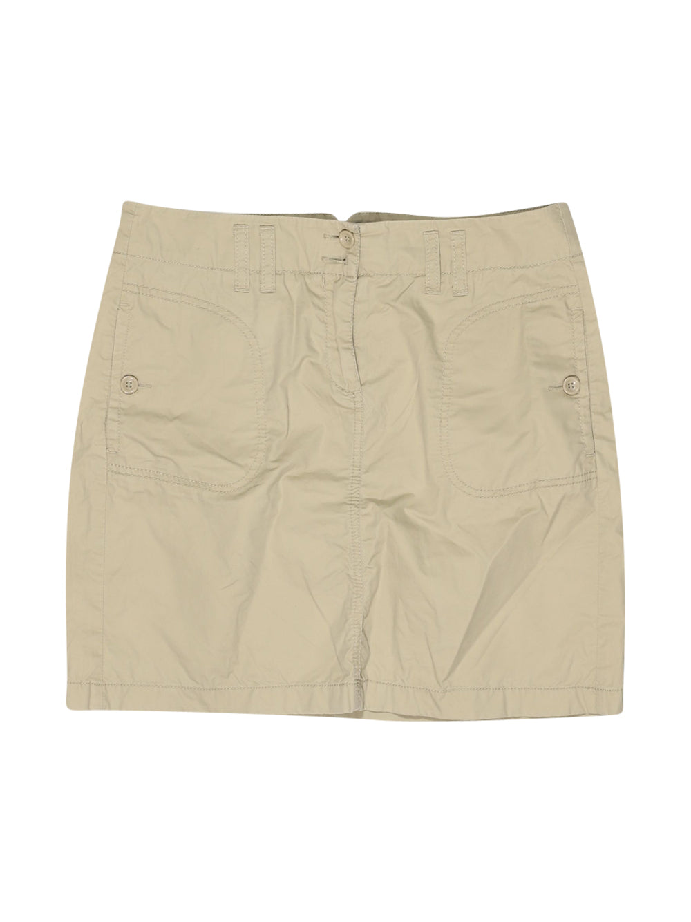 Front photo of Preloved Esprit Beige Woman's shorts - size 8/S