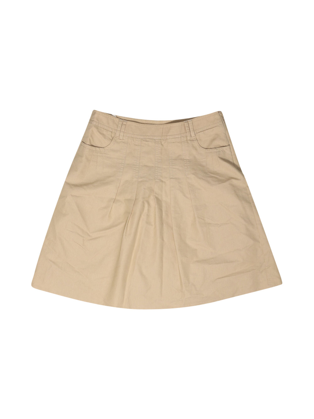 Front photo of Preloved Esprit Beige Woman's skirt - size 10/M