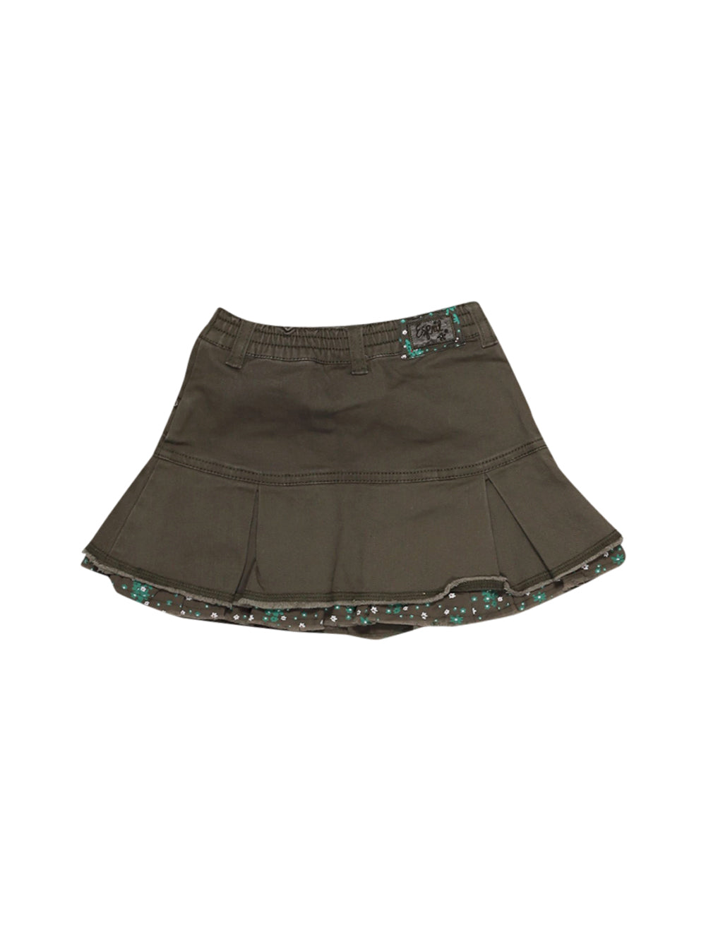 Front photo of Preloved Esprit Green Girl's skirt - size 18-24 mths