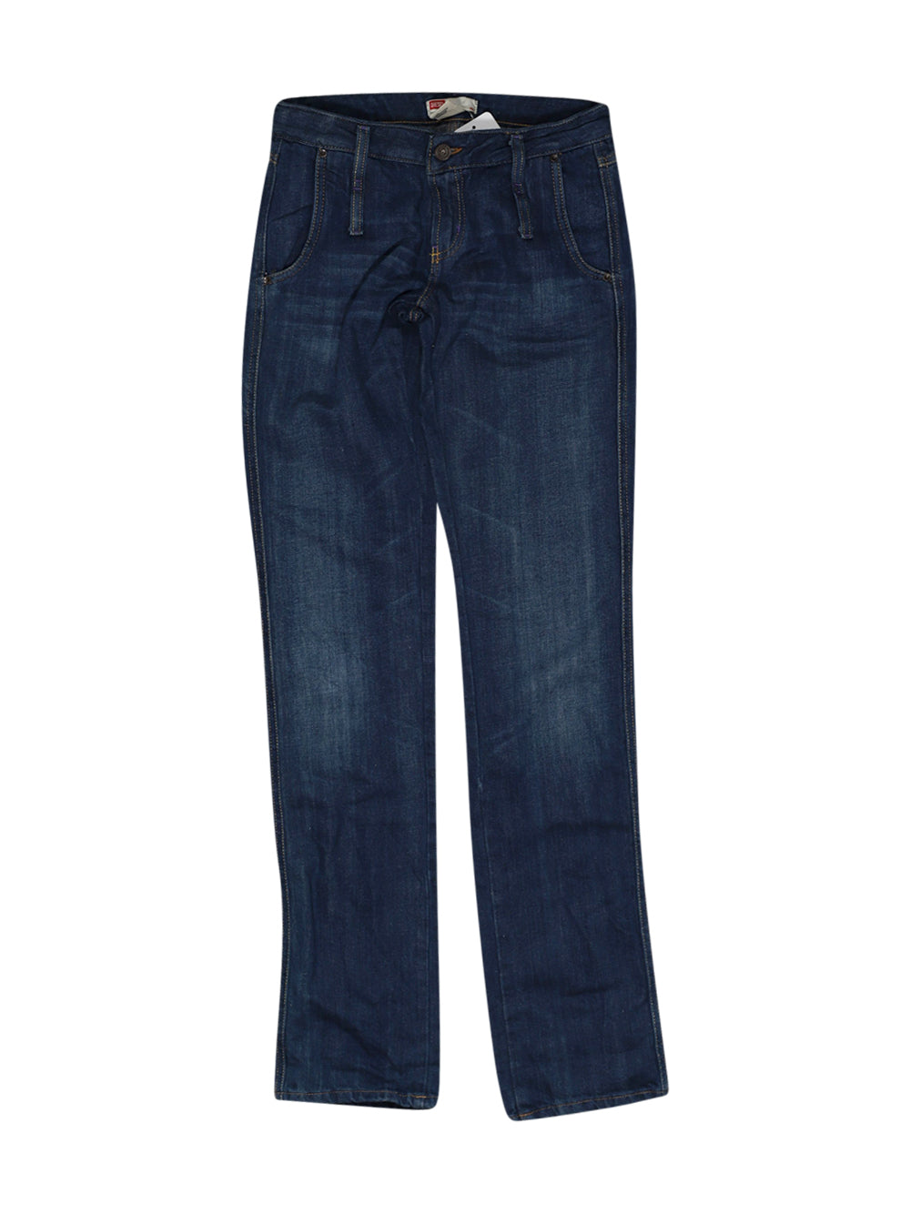 Front photo of Preloved Diesel Blue Girl's trousers - size 12-14 yrs