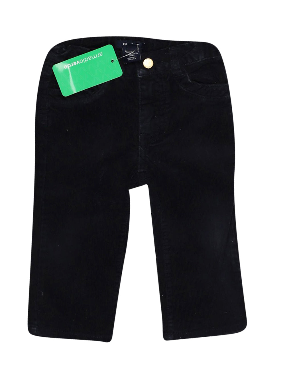 Front photo of Preloved Gant Blue Girl's trousers - size 6-9 mths