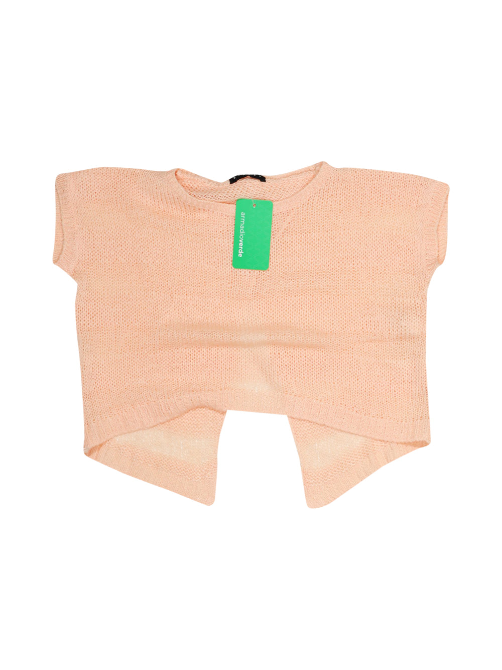 Front photo of Preloved Sisley Pink Girl's t-shirt - size 7-8 yrs