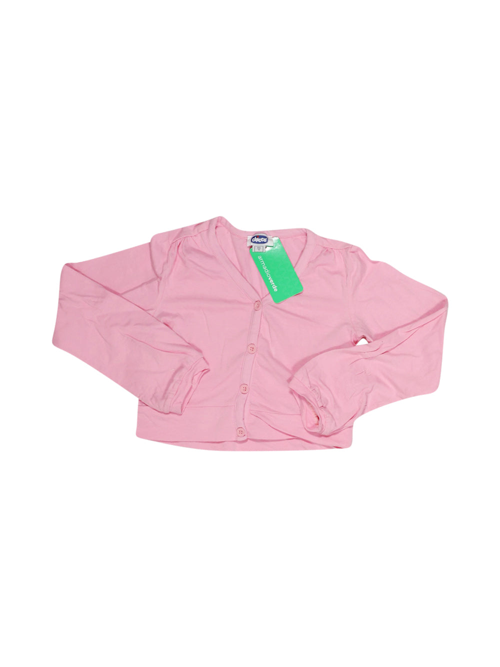 Front photo of Preloved Chicco Pink Girl's bolero - size 6-7 yrs
