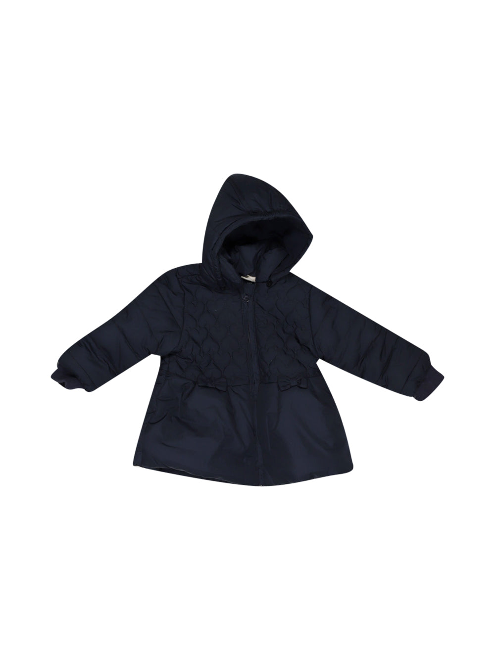 Front photo of Preloved Chicco Blue Girl's jacket - size 12-18 mths
