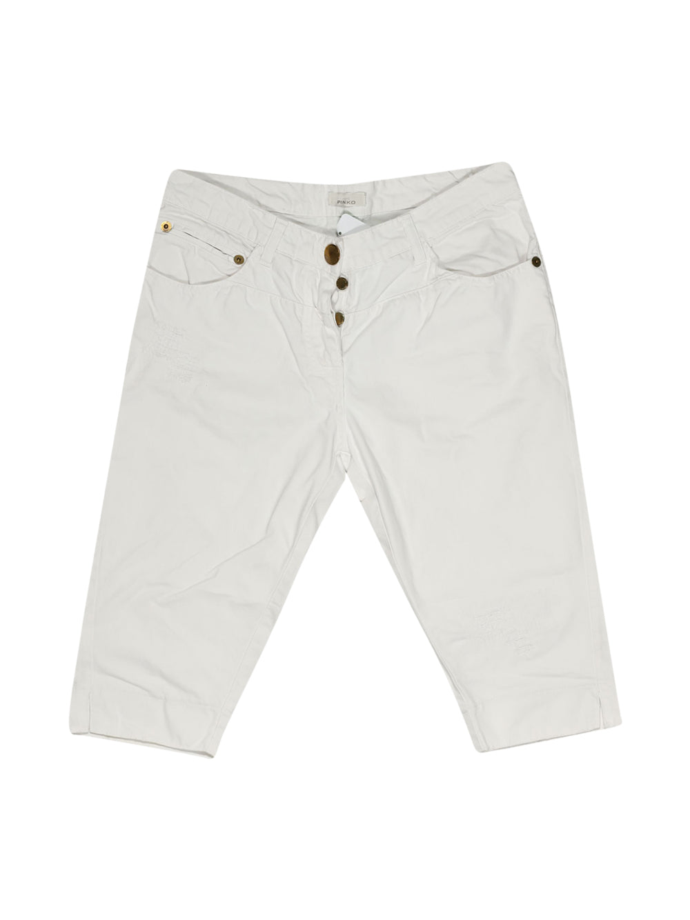 Front photo of Preloved Pinko White Woman's shorts - size 12/L