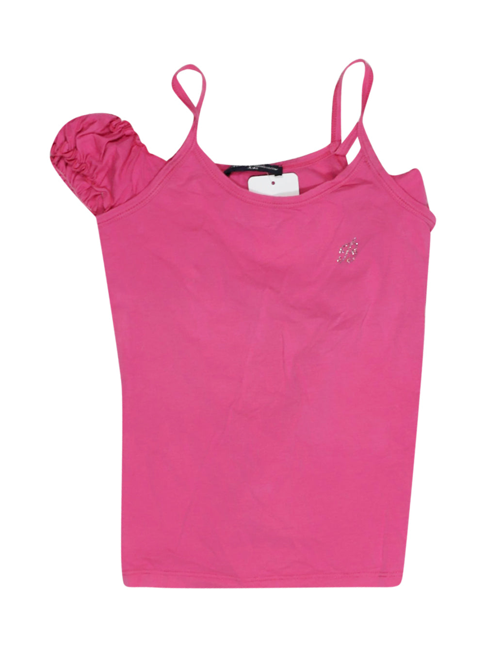 Front photo of Preloved Miss Blumarine Pink Girl's sleeveless top - size 9-10 yrs