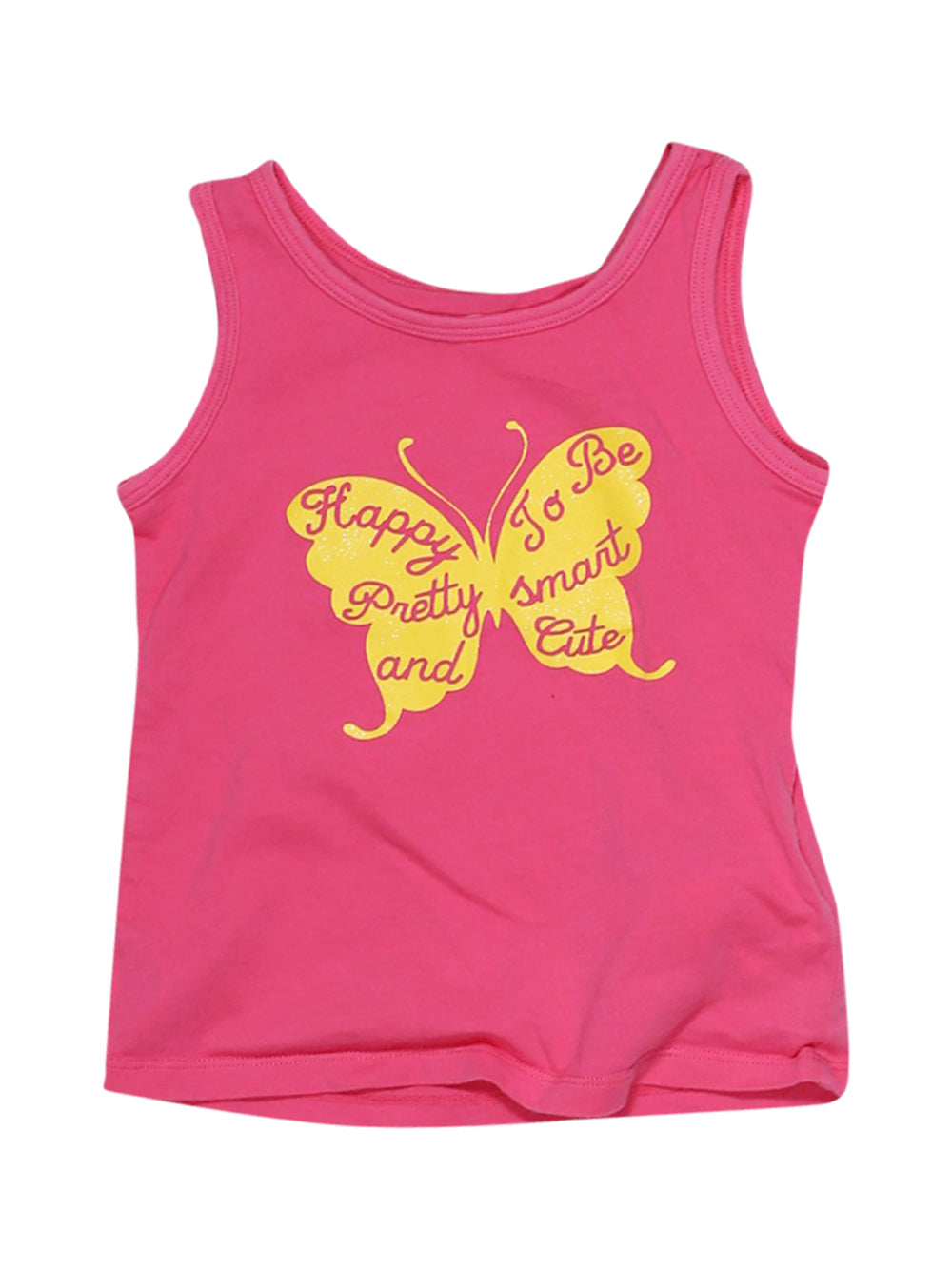 Front photo of Preloved Chicco Pink Girl's sleeveless top - size 2-3 yrs