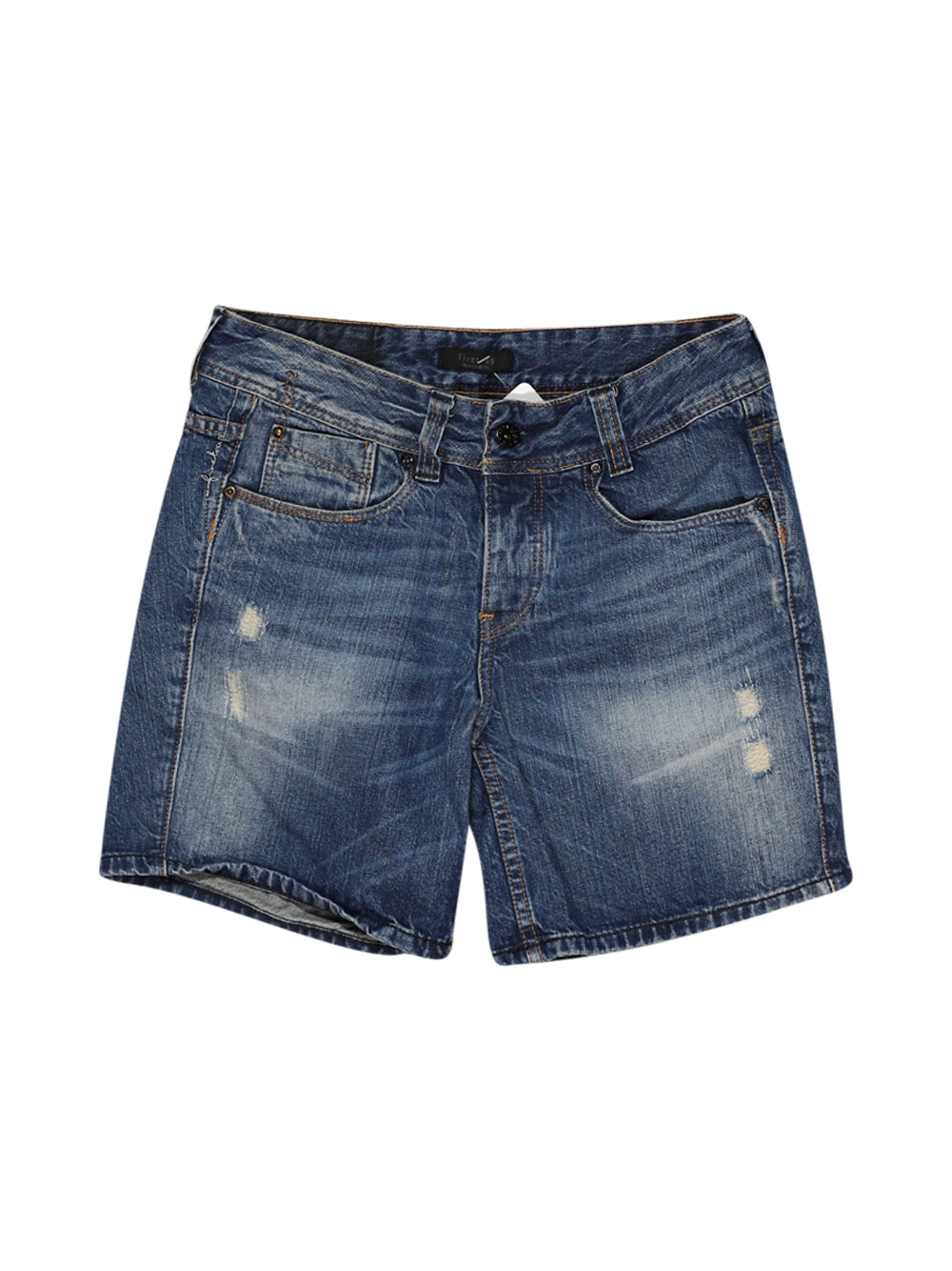 Front photo of Preloved Firetrap Blue Woman's shorts - size 8/S
