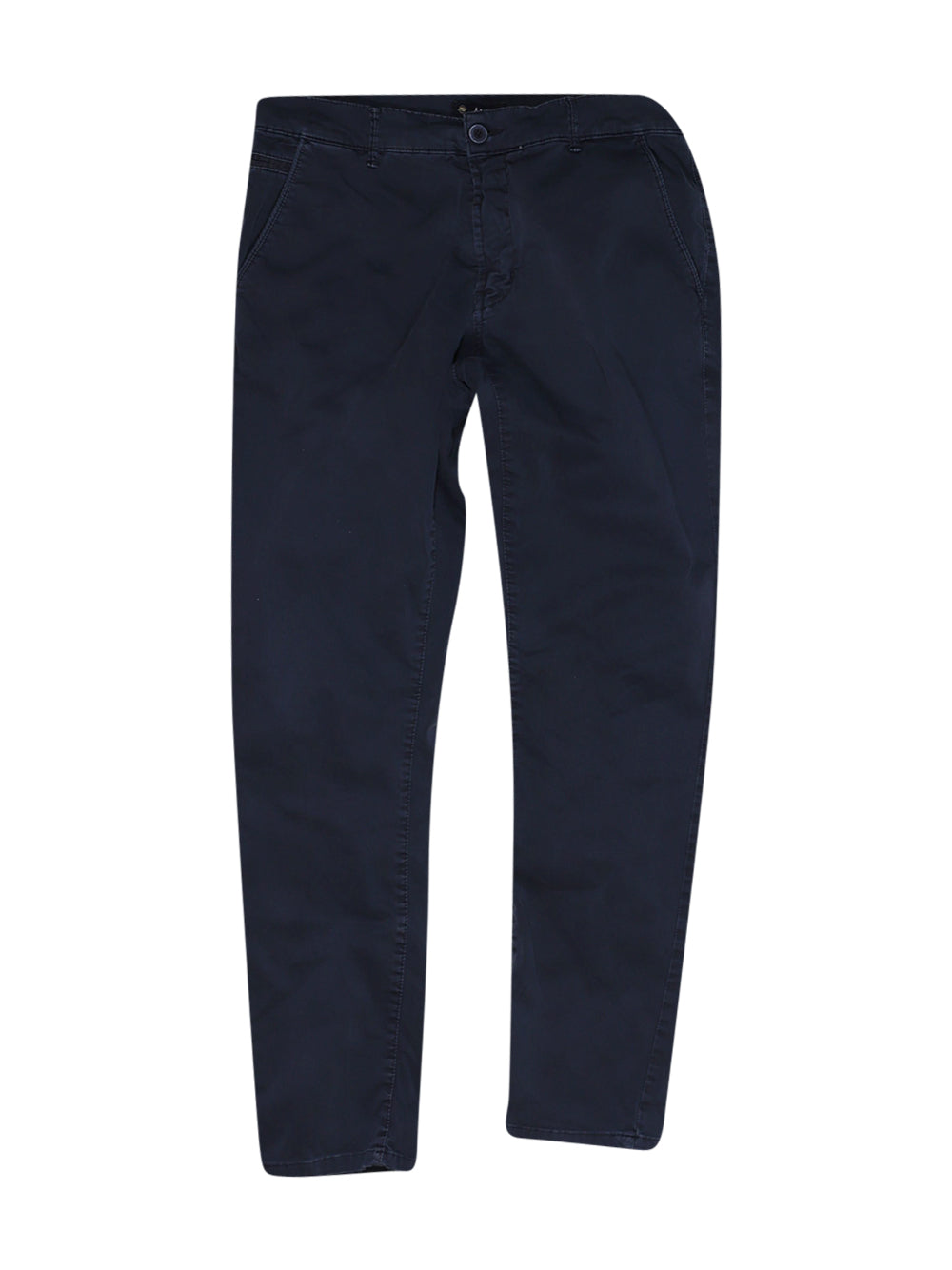 Front photo of Preloved Malcom Blue Man's trousers - size 38/M