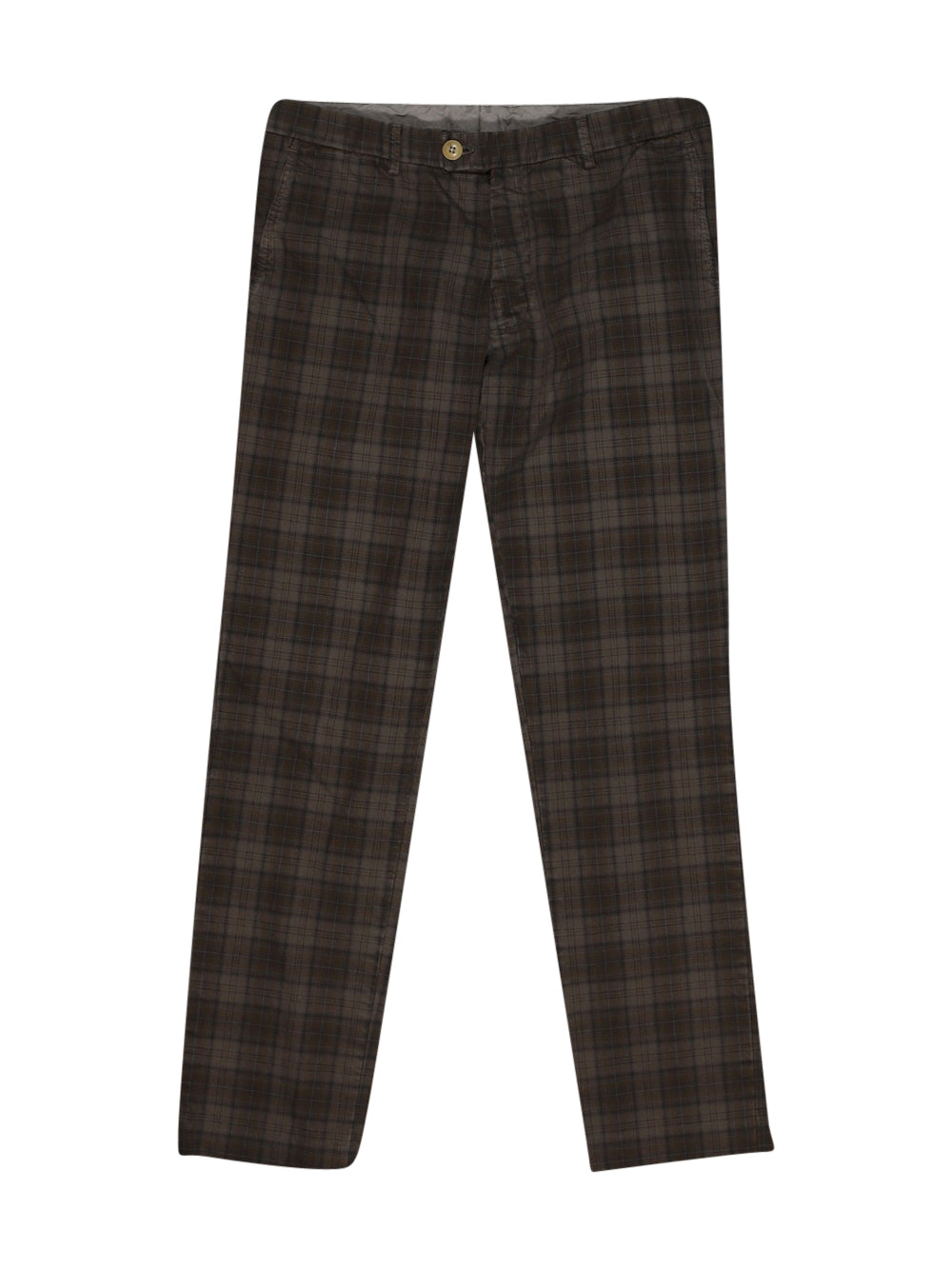 Front photo of Preloved IL Lanificio Brown Man's trousers - size 38/M