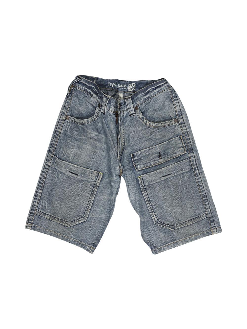 Front photo of Preloved Trn jeans Blue Man's shorts - size 36/S