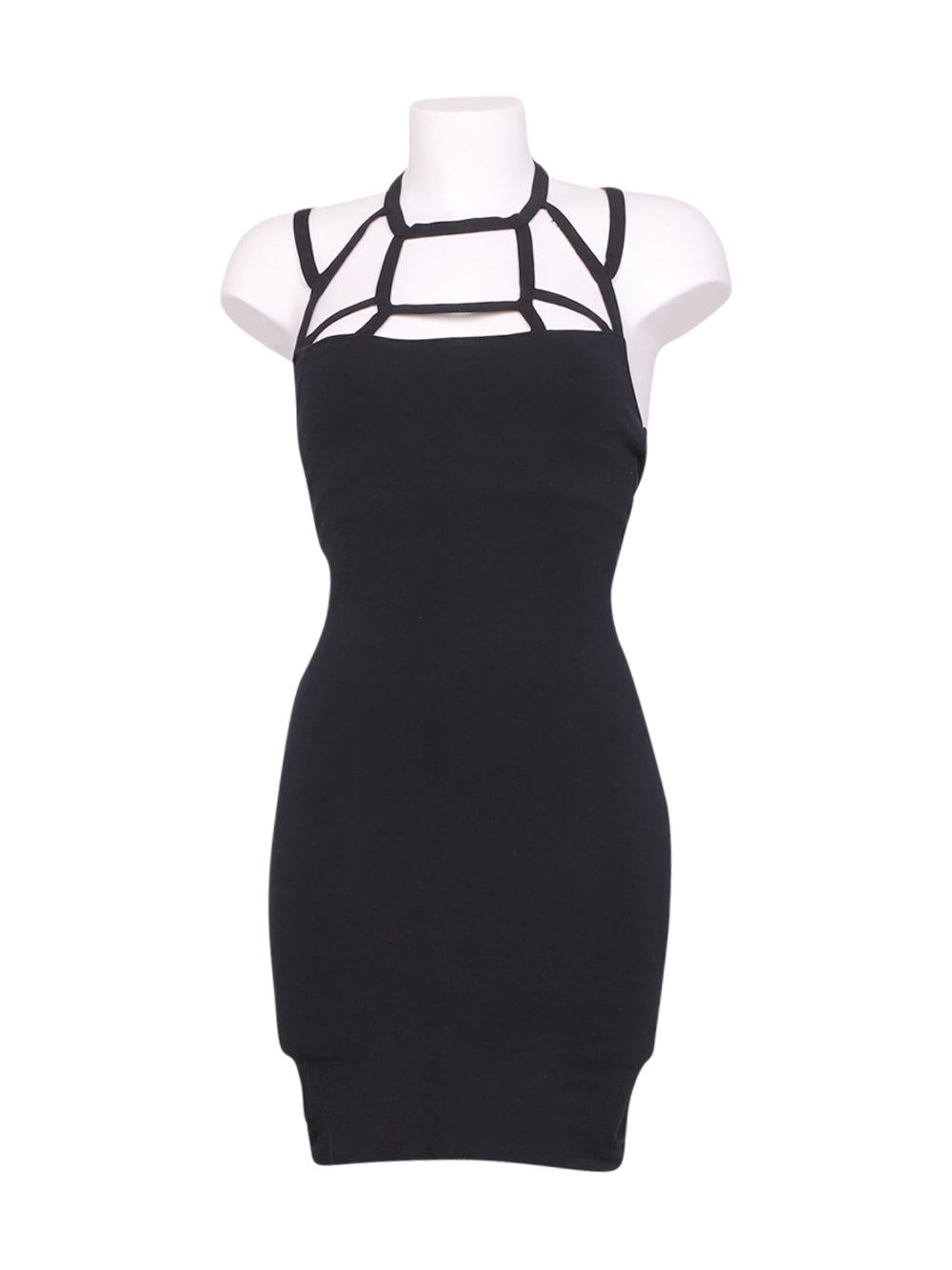 Front photo of Preloved Asos Black Woman's dress - size 10/M